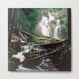 Upper Linton Falls, OR Metal Print