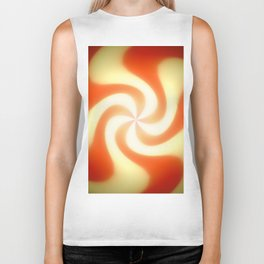 Retro sunburst design Biker Tank