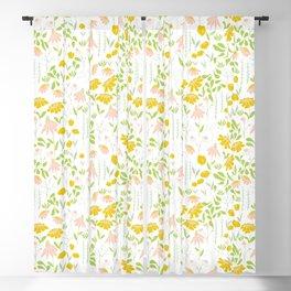 Floral Meadow Blackout Curtain