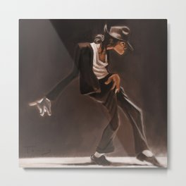Moonwalk Metal Print