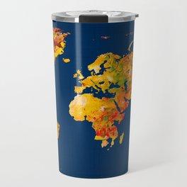 World Map 41 Travel Mug