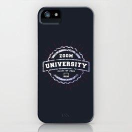 Zoom University iPhone Case