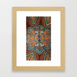 GEOMETRIC MOSAIC Framed Art Print