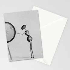 AntWoman & Duchamp's wheal Stationery Cards