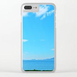Perce Coast and Rock Clear iPhone Case