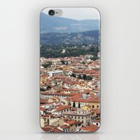florence iPhone & iPod Skins featuring Florence by Anya Kubilus
