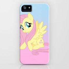 g4 my little pony Fluttershy iPhone Case