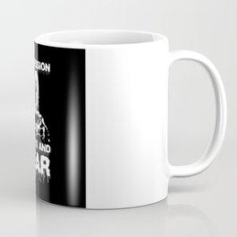 Depression Stress and Fear Coffee Mug