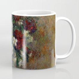 "Camille Pissarro ""Still life with peonies and mock orange"" Coffee Mug"