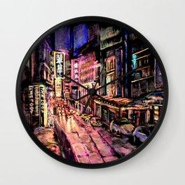 Lan Kwai Fong Wall Clock