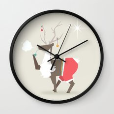 Happy New Year - A New Start to Old Habbits Wall Clock
