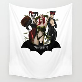 the Gotham Sirens Wall Tapestry