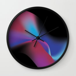 Colorful 1 Wall Clock