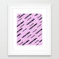 fili Framed Art Prints featuring Tu quoque, Brute, fili mi by Laura Nadeszhda
