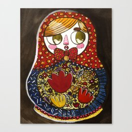 raisa romanoff Canvas Print
