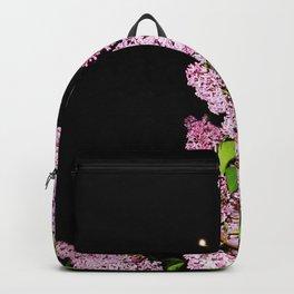 Lilacs at Night Backpack
