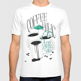 Us And Them: Coffeeholic Anonymous. T-shirt