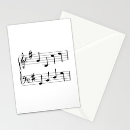 Music Chord Stationery Cards
