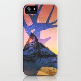 Matterhorn 2 iPhone Case