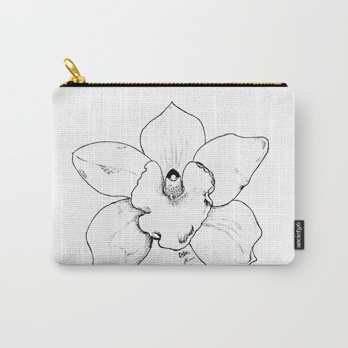 WILD ORCHID Carry-All Pouch