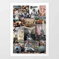 the princess bride Art Prints featuring Hang Drum,Princess Bride,Pearl by Fredmarinello