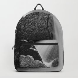 Crystal clear waterfall Backpack