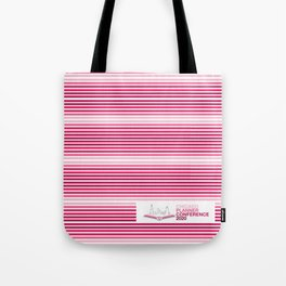 2020 Chicago Planner Conference - Logo and Lines Tote Bag