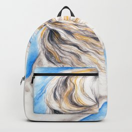 White Andalusian Backpack