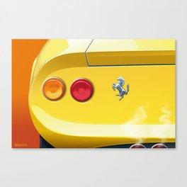 Ferrari Dino 246GT from 1970 Canvas Print