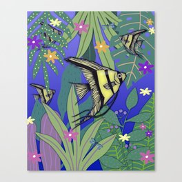 Angel Fish #1 Canvas Print