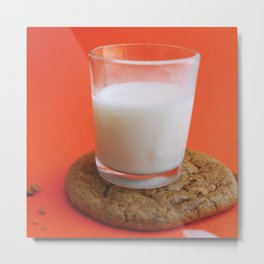 Cookie as a Coaster (Alternative Look) Metal Print