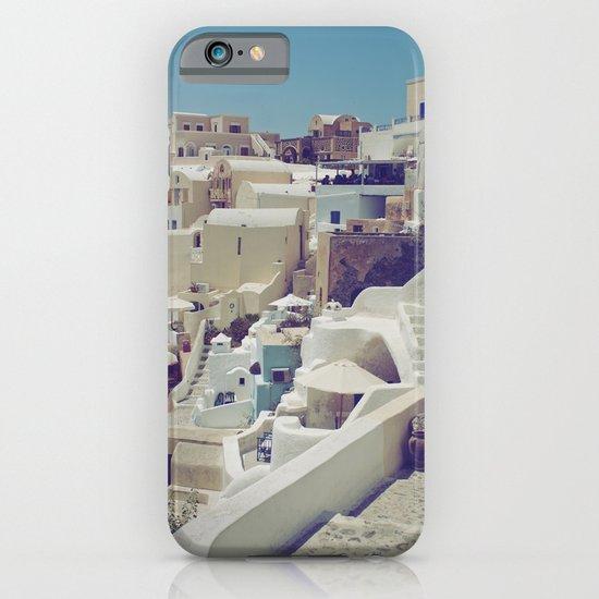 Streets of Santorini II iPhone & iPod Case