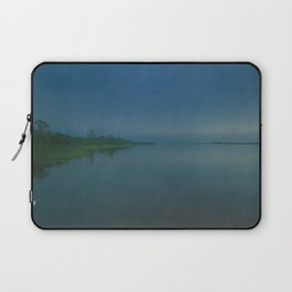 Cape Fear River Rolling on Past Just the Same Laptop Sleeve