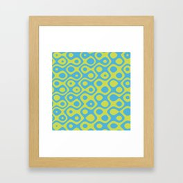 Brain Coral Yellow - Coral Reef Series 022 Framed Art Print