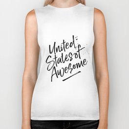 United State of Awesome Biker Tank