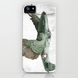 In which it's a bird. It's a plane. (Now in technicolour) iPhone Case
