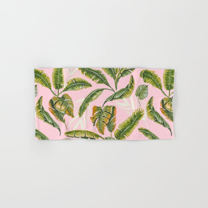 Banana leaf party Hand & Bath Towel