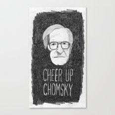 Cheer Up Chomsky Canvas Print