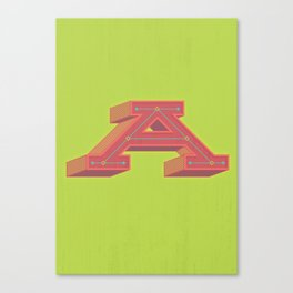 The Big A Canvas Print