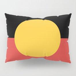 Australian Aboriginal Flag Pillow Sham