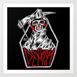 The Death Metal Art Print