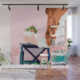 Plant Lady Wall Mural