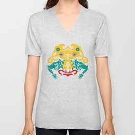 Borneo-Shirt .:sneering beast - YRCG Unisex V-Neck