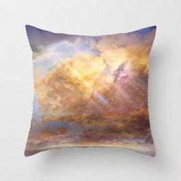 Sky-High Throw Pillow