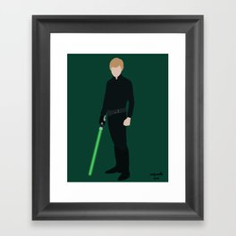 Jedi Knight Framed Art Print