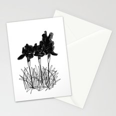 Dark Iris Stationery Cards