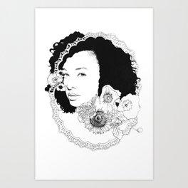 Corinne Bailey Rae Art Print