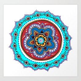 Isfahanapalooza Art Print