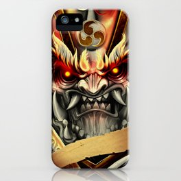 Kabuki Skin iPhone Case
