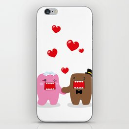 A Very Domo Wedding iPhone Skin